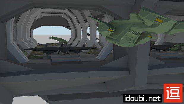 3D模型-UNSC Spirit of Fire-逗分享全球好资源
